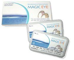 Kontaktlinse sæt bestående af 2 styk kontaktlinser