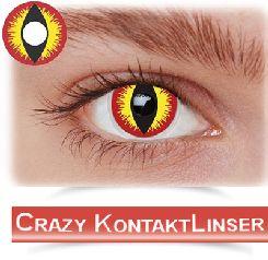 Flotte crazy kontaktlinser til fest og rollespil