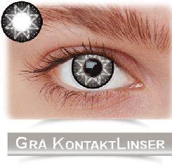 stort udvalg i grå kontaktlinser