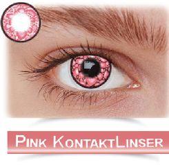 Flotte pink kontaktlinser