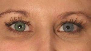 PA3GN grøn kontaktlinse